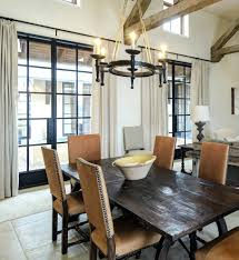 Transitional Dining Room Chairs Sets Nailhead Contemporary With Antique Spanish Oak Table Formal