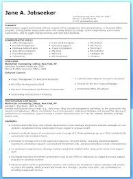 Sample Resume For Administration Administrative Manager
