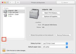 mac os x black and white printing information technology systems
