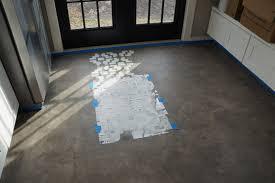 reader diy stenciled kitchen floors green notebook
