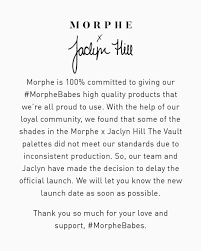 Morphe X JH Vault Delaying Official Launch : BeautyGuruChatter Microsoft Xbox Store Promo Code Ikea Birthday Meal Coupon Theadspace Net Horse Appearance Change Bdo Morphe Hasnt Been Paying Thomas From His Affiliate Wyze Cam Promo Code On Time Supplies Tbonz Coupons Beauty Bay Discount Codes October 2019 Jaclyn Hill Morphe Morpheme Brush Club August 2017 Subscription Box Review Coupons For Brushes Modells 2018 50 Off Ulta Deals Ttheslaya September 2015 Youtube Tv Sep Free Trial Up To 20