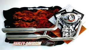 Wonderful Harley Davidson Decor Framed Picture Pictures Of Wall Art Decorative Mirrors