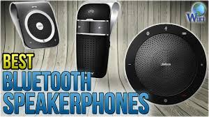 Top 10 Bluetooth Speakerphones Of 2018 | Video Review