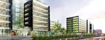 bureau leclercq luminem an office building with ambitious environmental goals along
