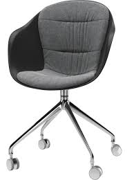 Adelaide Swivel Armchair With Wheels By BoConcept In Task ...
