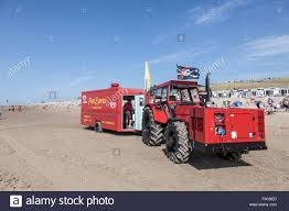 Snack Truck On The Beach In Netherlands Stock Photo: 86324293 - Alamy