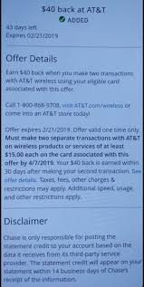 YMMV Chase App Offer $40 Back When You Make TWO $15+ ... Chase Refer A Friend How Referrals Work Tactical Cyber Monday Sale Soldier Systems Daily Coupon Code For Chase Checking Account 2019 Samsonite Coupon Printable 125 Dollars Bank Die Cut Selfmailer Premier Plus Misguided Sale Banking Deals Kobo Discount 10 Off Studio Designs Coupons Promo Best Account Bonuses And Promotions October Faqs About Chases New Sapphire Banking Reserve Silvercar Discount Million Mile Secrets To Maximize Your Ultimate Rewards Points