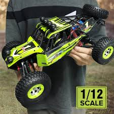 100 Rock Crawler Rc Trucks 12428 24G RC Off Road Buggy 4WD RTR Cars