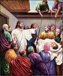 Healing Of The Paralytic Man Mark 21 5
