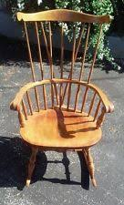 Nichols And Stone Windsor Armchair by Colonial American Antique Chairs Ebay