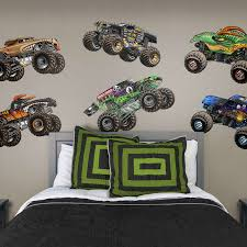100 Trucks Cartoon Monster Jam Collection XLarge Officially Licensed