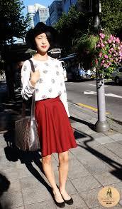 Seoul Street Fashion Ladylike