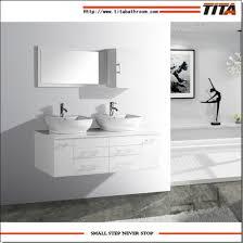 china festes holz badezimmer schrank spiegel schrank