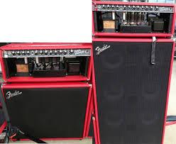 Fender Bassman Cabinet 1x15 by Rig Rundown Queens Of The Stone Age U0027s Troy Van Leeuwen 2013 08