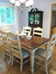 Refinishing Table Ideas Kitchen A Dining Room About Refinished Tables On Window Decoration
