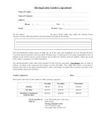 Sample Supplier Agreement Template Event Vendor Templates Free Ideas Supply Exclusive Distribution A Master Affiliate Aff