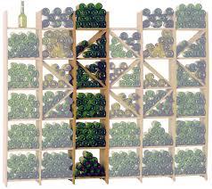 casier de rangement pour bouteilles de vin aménagement de cave à
