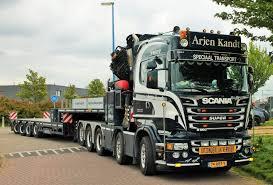 100 Auto Truck Transport Scania R560 10x4 ZWAAR AUTO KRAAN S Heavy Truck Volvo
