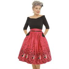 robe pin up rétro 50 u0027s vintage rockabilly swing cara kitty chat
