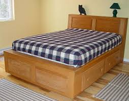 how to build a king platform bed with storage friendly