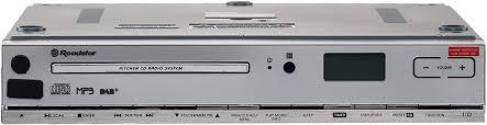 roadstar clr 2950 dab küchen unterbauradio mit cd cd spieler mp3 usb aux dab fernbedienung montage kit weiß