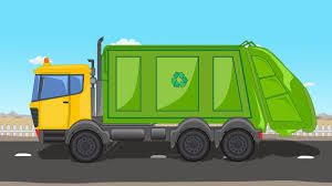 Cartoon Garbage Truck - Google Search | Bin Lorry Cake | Pinterest ...