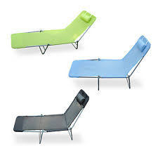 Reclining Camping Chairs Ebay by Sun Chair Ebay