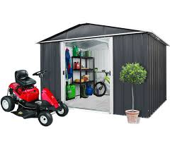 Titan Garages And Sheds by Metal Garden Sheds U0026 Garages Yardmaster International