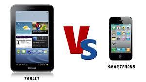 Tablet vs Smartphone Information