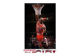 Big Ang Mural Chicago by Michael Jordan Mural Wall Decal Shop Fathead For Chicago Bulls