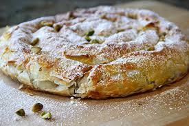 moroccan almond snake pastry m hanncha or m hancha