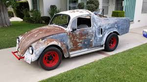 1967 Vw Bug Kit Car Truck Phila Tv - YouTube Is This The Tallest Ford Truck On Roads 1966 Volkswagen Volksrod Volkstruck Rat Rod Shop Vw 1970 Baja Beetle For Sale Classiccarscom Cc923868 Bug Pickup Ugly Day 1967 Fiberglass Domus Flatbed Cversion For Unfinished Project Forum Vzi Europes 10 Awesome Mods You Cant Help But Love A Volksrod Is Born The Build Thread Of A Graffiti Trucks Graffiti And Modifications