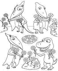 Dinosaur Train Coloring Page