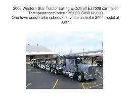TRAILER TRASH More Than You Ever Wanted To Know About Trailers ... Seymour Truck Sales Group Home M T Chicagolands Premier And Trailer Colonial Ford Of Tidewater Richmond Va Specializing Lubbock Tx Freightliner Western Star Fresno Car Haulers For Sale New Used Carrier Trucks Trailers 2000 Western Star 4964ex Heavy Duty Cventional W Promotions Steubenville Center Inventory Cassone Equipment Ronkoma Ny 2018 5700xe At Truckpapercom Big Trucks Pinterest Appalachian Enterprises Llc Bristol Virginia Driving The New 5700