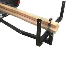 2'' Trailer Hitch Pickup Truck Bed Extender Carrier Load Bar Hauler ...