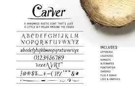 Carver Font Extras Display Fonts Creative Market