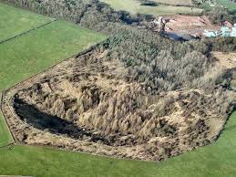 Fauld Explosion Crater 6