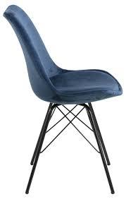 2x erin esszimmerstuhl blau stuhl set esszimmer stühle küchenstuhl küche möbel
