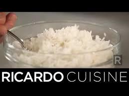 cuisine du riz pour une parfaite cuisson du riz ricardo cuisine