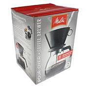 Melitta Cone Filter Pour Over Coffeemaker