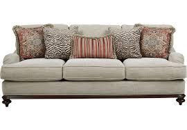 Cindy Crawford Home Bali Breeze Taupe Sofa