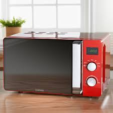 305821 Goodmans 20L Microwave Oven Red