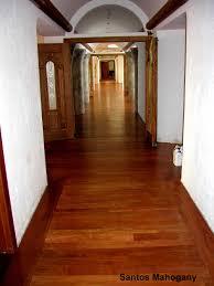 Santos Mahogany Hardwood Flooring by Jobs