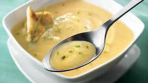navet cuisine potage de navet et poires à la ciboulette recettes iga soupe