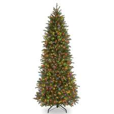Christmas Tree 75 Pre Lit by National Tree Co Jersey Fraser Fir 7 5 U0027 Green Artificial