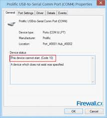 installing the unsupported profilic usb to serial adapter pl