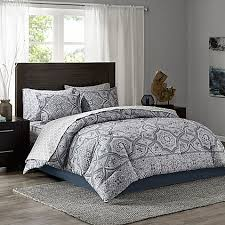 Tanami forter Set in Blue Grey Bed Bath & Beyond
