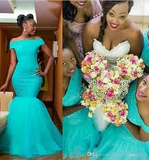 2017 Long Turquoise Lace Bridesmaid Dresses Western Country Lace