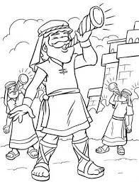 Lots Of Joshua And Jericho Coloring Pages