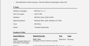 50 Elegant Sample Resume For Computer Science Lecturer In Engineering College